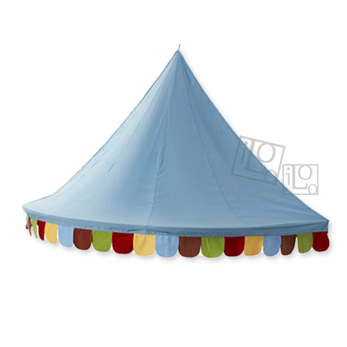 [ilooiloo] ZID Bed canopy, light blue /지드/캐노피/침대캐노피/어린이 ...