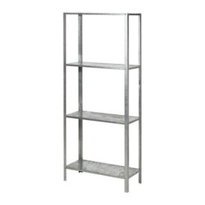 HYLLIS Shelving unit, galvanised