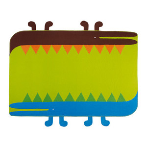 VILDDJUR Blanket, multicolour,유아담요VILDDJUR Blanket, multicolour,유아담요, 당일발송