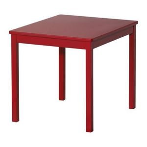 KRITTER Children's table, red