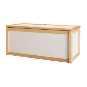APA Storage box, white, pine ,당일발송
